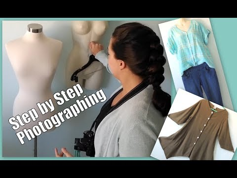 How I Photograph Clothing for Ebay