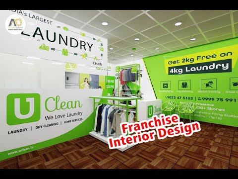 Laundry Store Interior