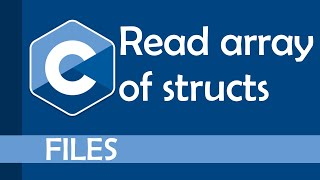 Read an array of structs in C