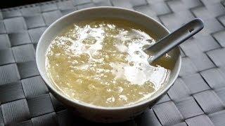 Hong Kong Dessert Recipe:Water Chestnut Sweet Soup