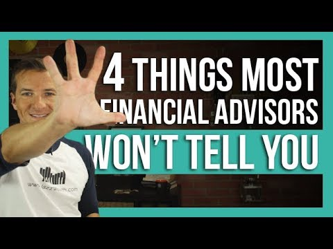 🤐 4 things many financial advisors won't tell you | The Dough 💲how