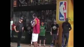 This Guy who impress professional basketball players with his Dunks..