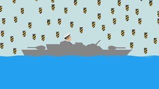 EXTREME BATTLESHIP MOAB BOMB! (Happy Wheels #81)