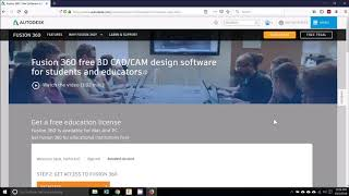 Education License Activation in Autodesk Fusion 360 (Updated on October 5, 2019)