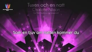 """[1999] Charlotte Nilsson - """"Tusen och en natt"""" [Instrumental version]"""