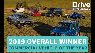 Commercial Vehicle of the Year - 2019 Overall Champion | Drive.com.au