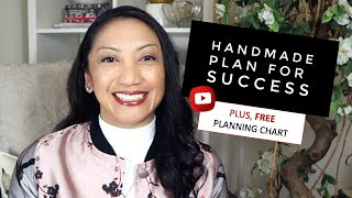 How to Start a Successful Handmade or Crochet Small Business | Free PDF Download Chart Tool