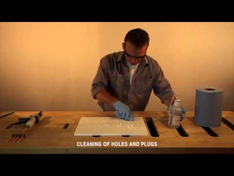 DuPont Corian One Cutter Plug repair