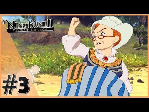 ФУНЯШИ И ТЕТУШКА МАРТА - Ni no Kuni II: Revenant Kingdom #3 [Прохождение]