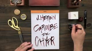 "J. Herbin 1670 Anniversary Fountain Pen Ink - ""Caroube De Chypre"""