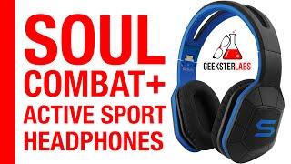 Soul Combat+ Active Sport Over-Ear Headphones