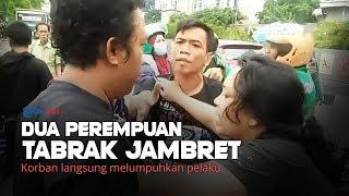 Dua Perempuan Tabrak dan Lumpuhkan Jambret Ponsel