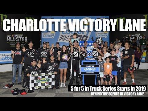 Kyle Busch Wins Charlotte Truck Race