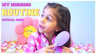 My MORNING ROUTINE Song - Music for Children by Kids Learning Songs