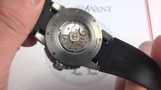 Harry Winston Z8 Dual Time Luxury Watch Review