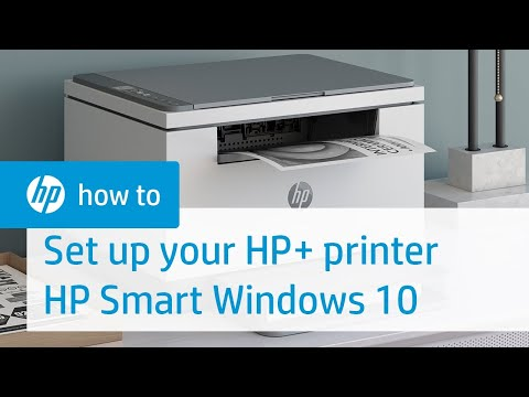 Set up Your HP+ Printer on a Wireless Network Using HP Smart for Windows 10 | HP Smart | HP