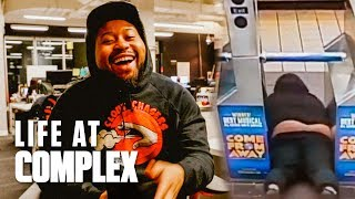 DID AKADEMIKS GO VIRAL ON THE SUBWAY? | #LIFEATCOMPLEX