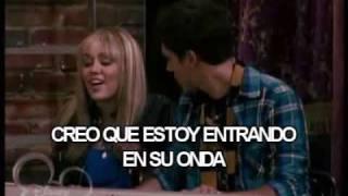 Miley Cyrus ♫He could be the one♪.(En español) Escena Del Cap.