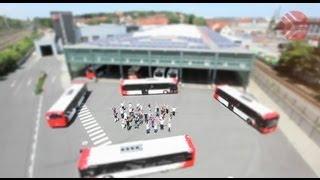 preview picture of video 'Osnabrück: Nahverkehr der Stadtwerke Osnabrück'