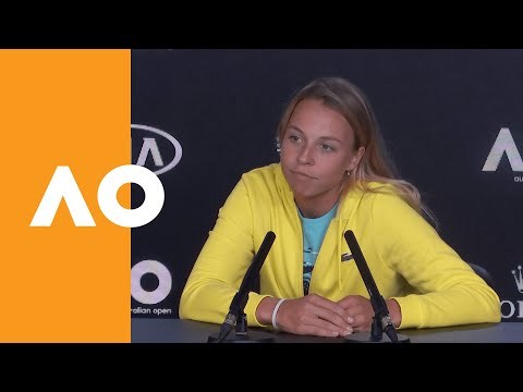 """Anett Kontaveit: """"I feel calmer than I used to"""" 