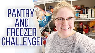 Taking Inventory of my Pantry & Freezer 👩🍳 Cooking out of my Pantry for the Month of April!