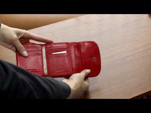 Кошелек de esse LC14813-GD02 Красный