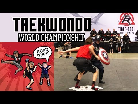 Taekwondo 2018 - Tiger Rock World Championship Road Trip