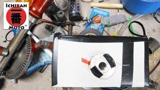 How to make a 35mm camera for artistic photography of custom cafe racer motorcycles by Ichiban Moto