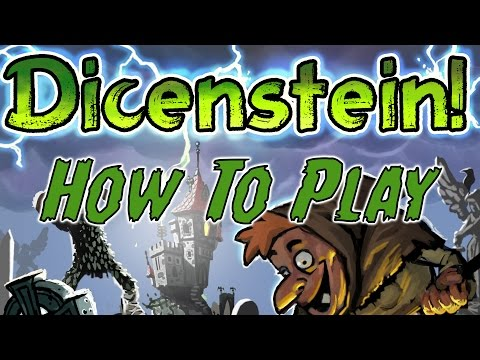 How to play Dicenstein - with Sandy Petersen