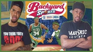 ARE YOU SERIOUS!? WHAT A FINISH!! - Backyard Basketball   #ThrowbackThursday