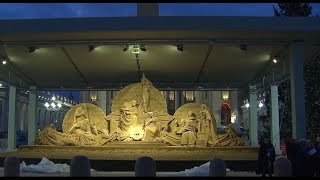 "Vatican Connections: The story behind the ""Sand Nativity"" at the Vatican"