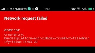 Why React Native Android Fetch failing on access to localhost