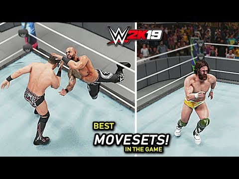 WWE 2K19 Top 10 Best Movesets In The Game!!