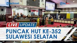 Gubernur Sulsel Terjerat Hukum, Puncak HUT ke-352 Sulsel Digelar Sederhana di DPRD Sulsel