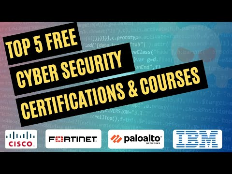 Top 5 Free Cyber Security Certifications for Beginners - YouTube