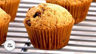 How To Make TASTY Mini Bran Muffins