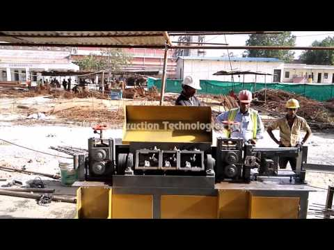 TMT Bar Decoiling Machine