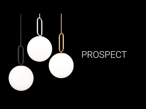 Video for Prospect Matte Black 23-Inch One-Light Large Pendant