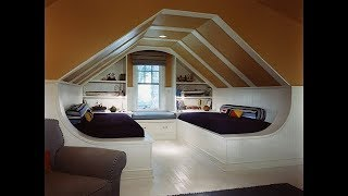 30 Incredible Bedrooms In The Attic ➤ Attic Room Ideas
