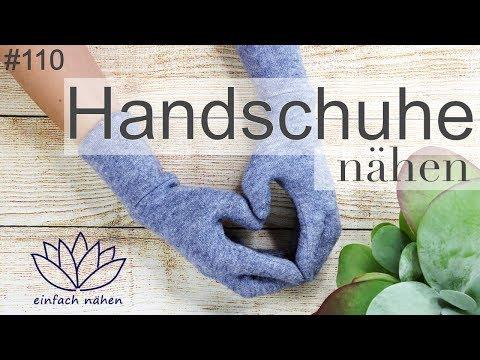 Handschuhe selber nähen   WirMachenWeihnachten 2017  - mit Anna von einfach nähen