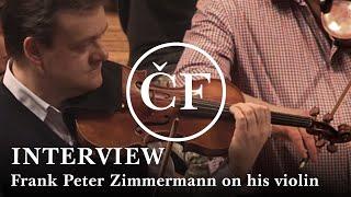 Frank Peter Zimmermann on his new 1727 'General Dupont' Stradivarius