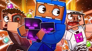 We Found The Nether Fortress & Made Potions! - Minecraft