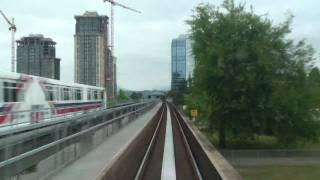 Vancouver Skytrain Timelapse (Expo Line)