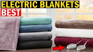 👉 TOP 5 Best Electric Blankets In [2020-2021] 🛌 Best Electric Blanket for Camping