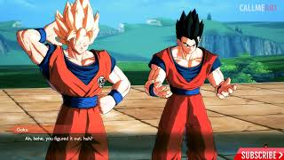 Dragon Ball FighterZ CELL Roasts ADULT GOHAN Cutscene HD