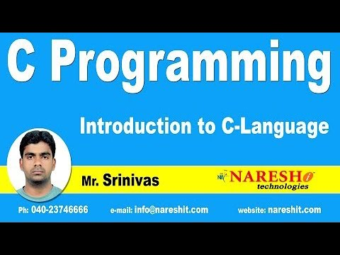 Introduction to C Language – Part 1 | C Language Tutorial