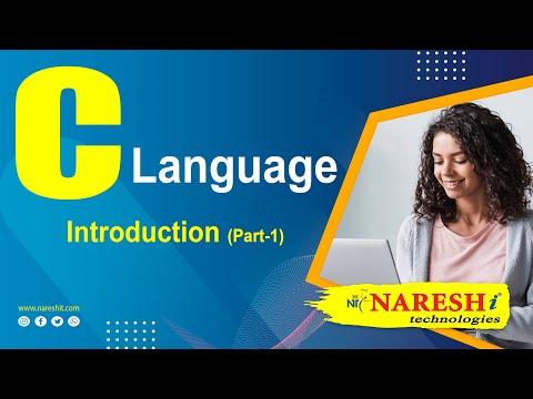 Introduction to C Language – Part 1 | C Language Tutorial