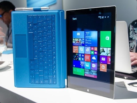 Microsoft Surface Pro 3 Unboxing