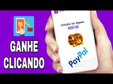 Novo App - Como  Ganhar Dinheiro  Clicando no Paypal (Money no paypal)