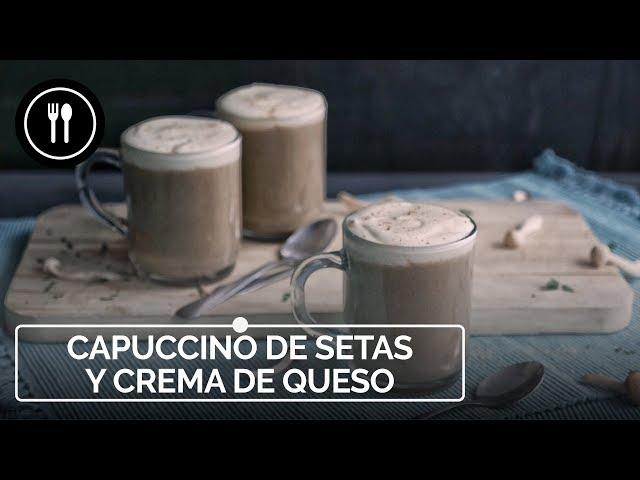 Cómo hacer CAPUCCINO DE SETAS Y QUESO, el trampantojo más fácil, rápido y delicioso | Instafood